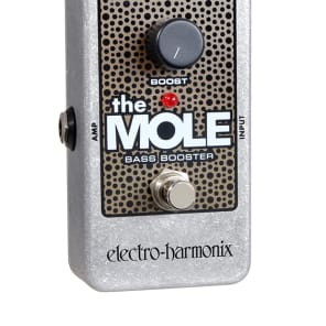 Electro Harmonix The Mole Bass Booster Guitar Effects Pedal! Priority Mail Shipping!