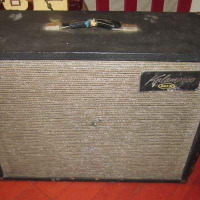 Vintage 1963 Kalamazoo Bass 30 Combo Bass Tube Amp