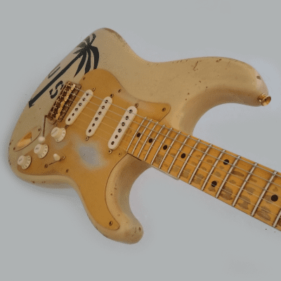 Fender Stratocaster Custom Shop - '56 Heavy Relic - 2009 - Desert Sand for sale