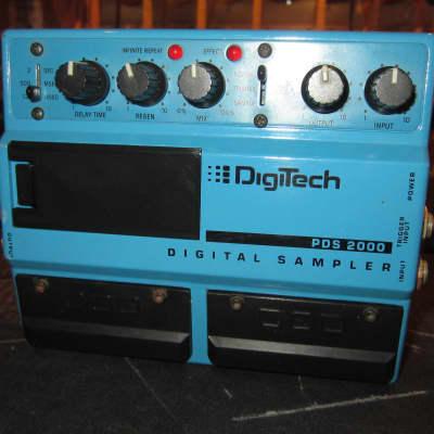 Pre Owned 1988 Digitech PDS2000 Digital Sampler Blue for sale