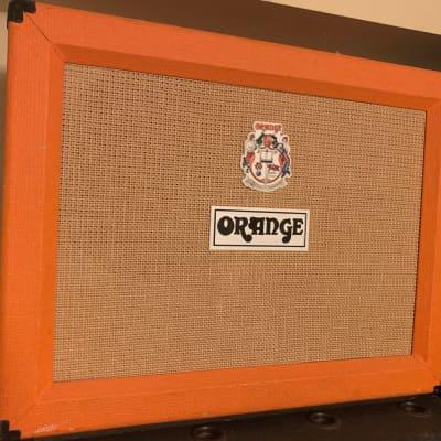 Orange PPC212 2x12 120-Watt Guitar Speaker Cabinet, Orange Tolex