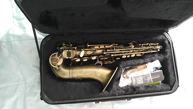 New Professional Taishan Winds Curved Soprano Saxophone
