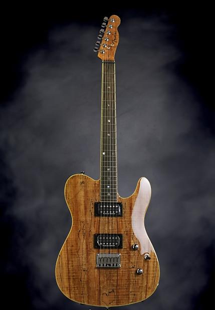 Fender Custom Telecaster Fmt Spalted Maple Hh Reverb