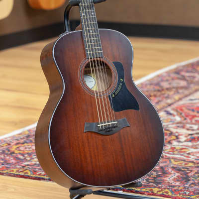 Taylor 326e Baritone-8 LTD Blackwood/Mahogany Grand Symphony with ES Shaded Edgeburst 2016 for sale