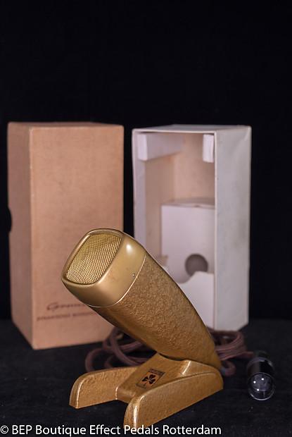 Grundig GDM-121 Dynamic Microphone s/n 06712 late 50\'s   Reverb