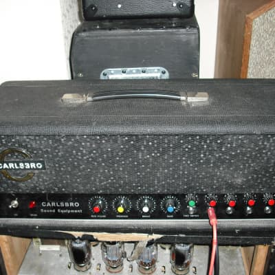 Carlsbro 100 PA Reverb electric guitar valve amplifier tube amp head for sale