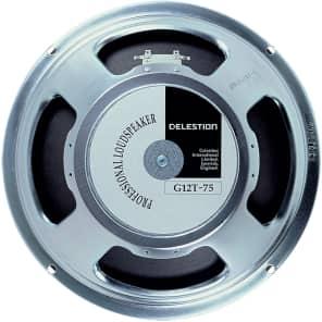 """Celestion T3760 G12T-75 12"""" 75-Watt 16 Ohm Replacement Speaker"""