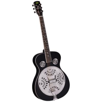 Regal RD-40B Studio Series Roundneck Resophonic Guitar Black for sale