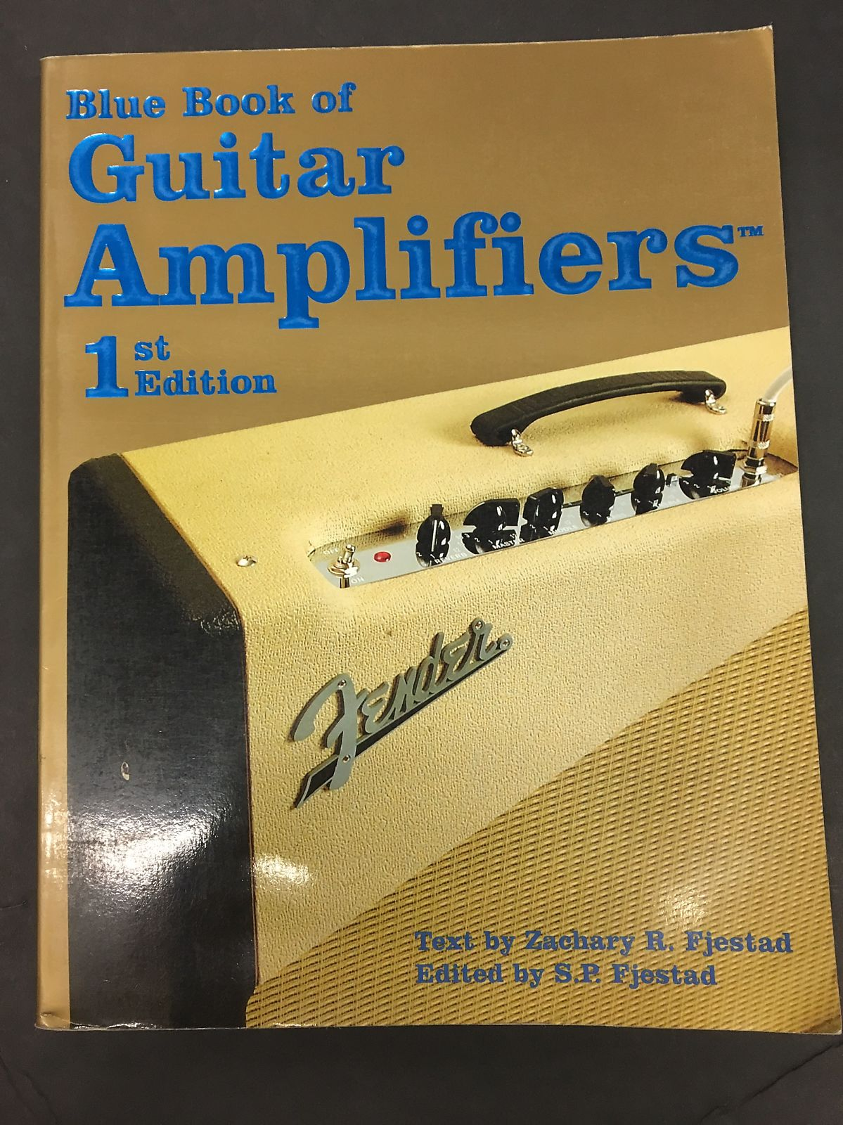 Vintage Blue Book 1st Edition Blue Book of Guitar Amplifiers