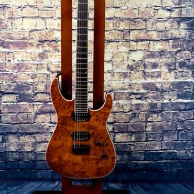 Jackson   Pro Series Soloist™ SL2P HT MAH, Mahogany Body with Poplar Burl Top, Ebony Fingerboard, Carmel Burl Camel Burl for sale
