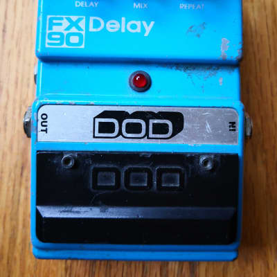 Original Vintage DOD FX90 Delay Guitar Pedal 1987 for sale