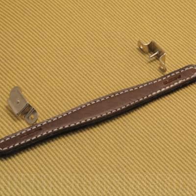 099-0945-000 Fender Brown Leather Vintage Style  Amp Handle