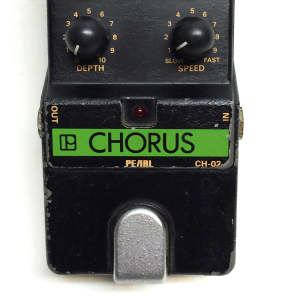 Pearl CH-02, Chorus, Guitar Effect Pedal, Made In Japan, 80's for sale