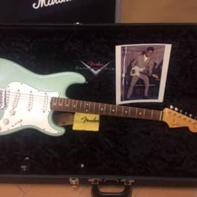 Fender custom shop stratocaster ike turner sonic blue immacolata...