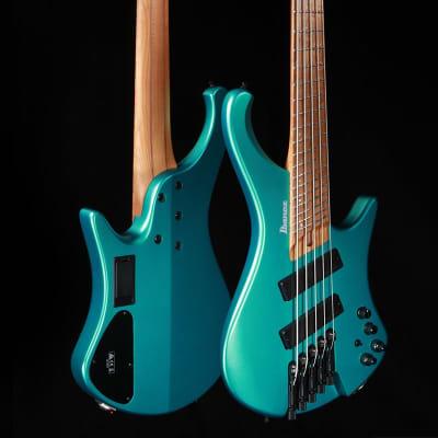 Ibanez Bass Workshop EHB1005SMS 5-String Bass Emerald Green Metallic Matte for sale