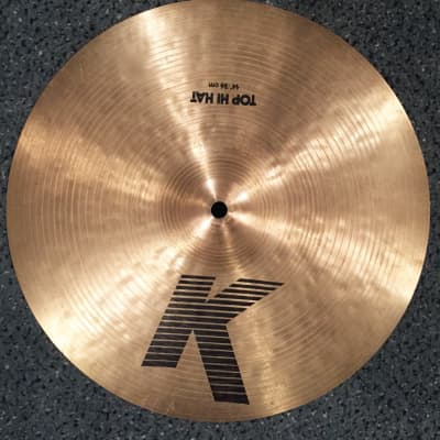 "Zildjian 14"" K Series ""EAK"" Hi-Hat Cymbal (Top) 1982 - 1988"