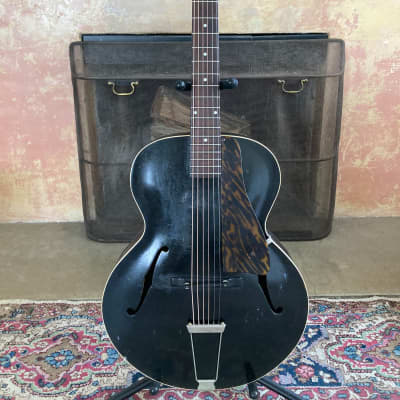 1930s Gibson Black Special #4 Archtop Guitar