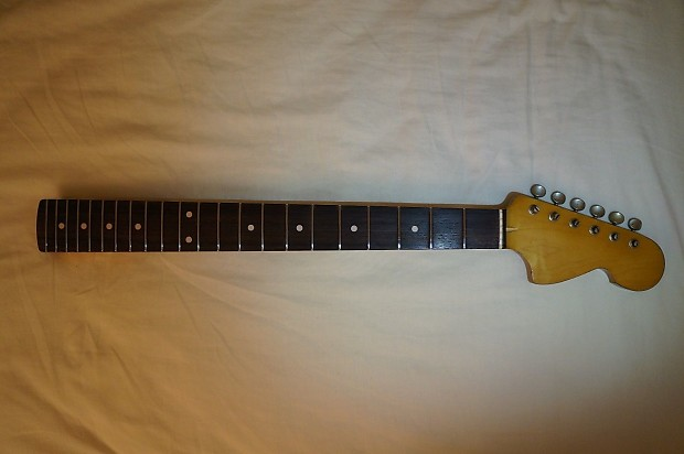 USACG Custom Strat Guitar Neck Relic Plekked Vintage Stratocaster Warmoth