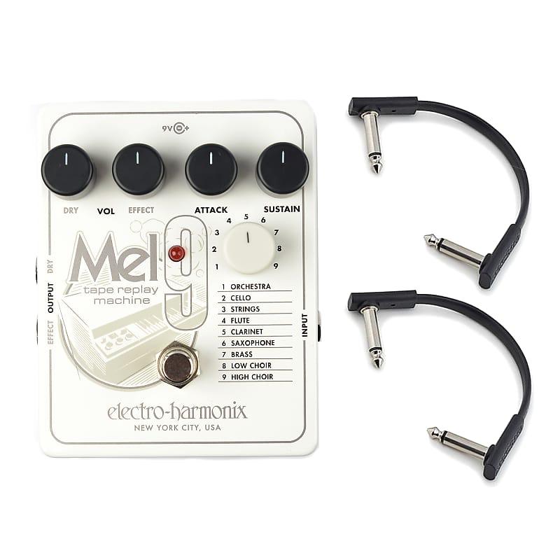 Electro Harmonix Mel9 Tape Replay Machine W Rockboard Flat
