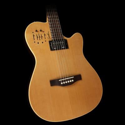 Godin A6 Ultra Electric Guitar Natural image
