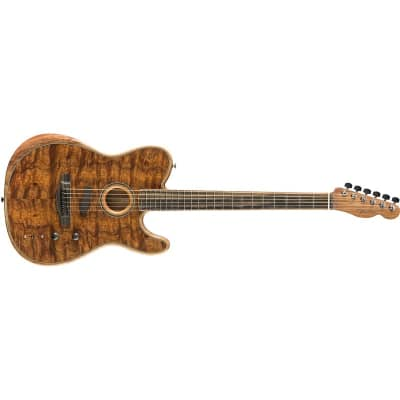 Fender FSR American Acoustasonic Telecaster Exotic, Koa Gloss for sale