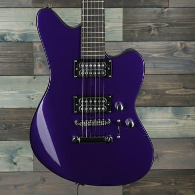 Jackson Pro Series Signature Rob Caggiano Shadowcaster, Ebony Fingerboard, Purple Metallic B-Stock