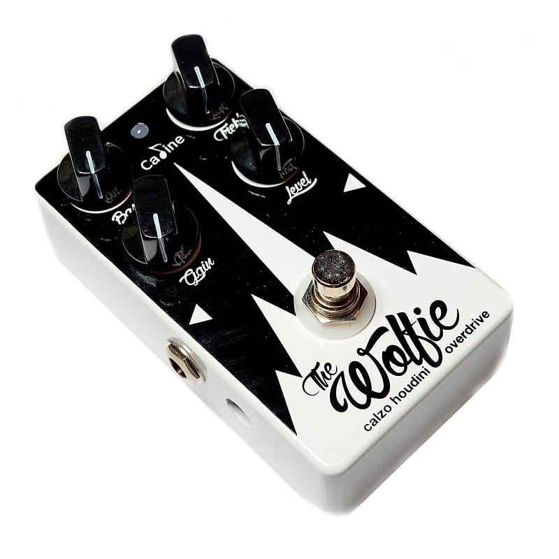 Caline Wolfie Overdrive Guitar Pedal Calzo Signature Limited Edition black