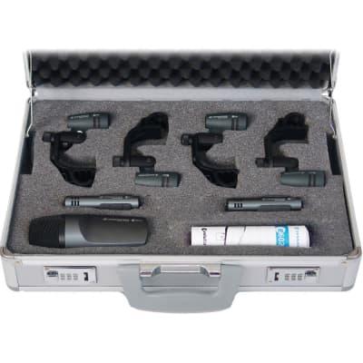 Sennheiser E 600 SERIES DRUM CASE Drum Microphone Kit with Case