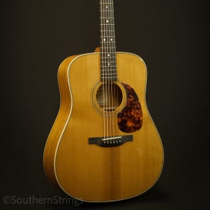 Boucher Mahogany Bluegrass Goose Dreadnought with Gold Touch for sale