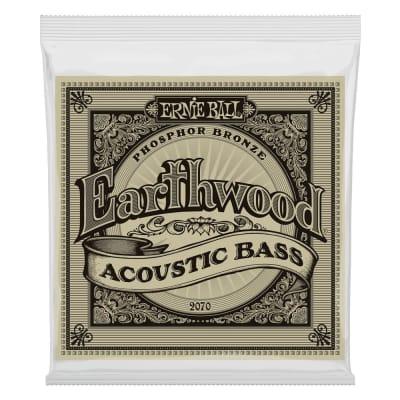 Ernie Ball 2070 Earthwood Phosphor Bronze Acoustic Bass Strings