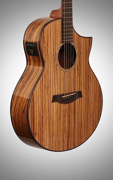 Zebrawood Electric Guitar : ibanez aew40zw artwood zebrawood acoustic electric guitar reverb ~ Hamham.info Haus und Dekorationen