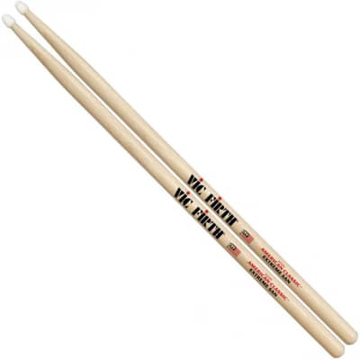 Vic Firth X5AN American Classic 5A Extreme Nylon Tip Drumsticks, Pair