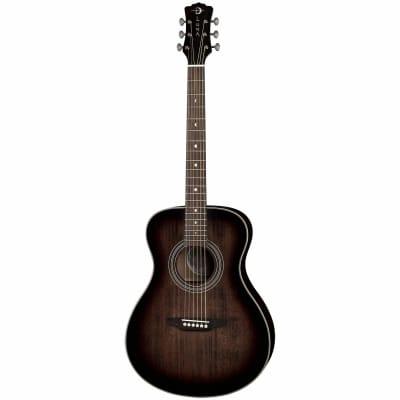 Luna Art Folk Vintage Left-Handed Acoustic Guitar for sale