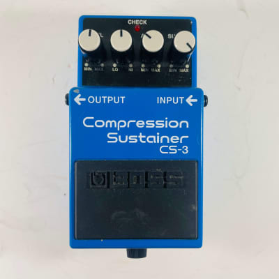 Boss CS-3 Compression Sustainer *Sustainably Shipped*