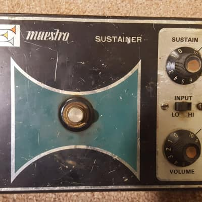 Maestro SS-2 Sustainer Pedal 1970s
