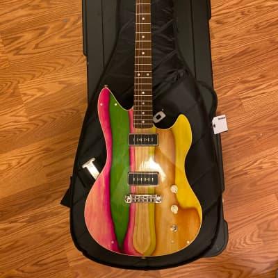 Prisma Accardo 2021 Mahogany Handmade Electric Guitar for sale