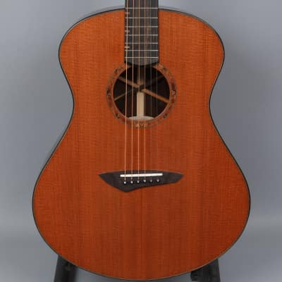 2017 Michael Bashkin Placencia OM Ziricote/Lucky Strike Redwood Acoustic Guitar for sale