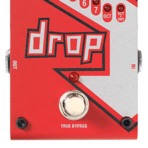 Open Box DigiTech Drop Polyphonic Drop Tune Pedal!