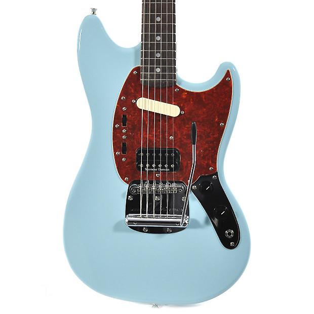 Fender Kurt Cobain Signature Mustang Sonic Blue Reverb