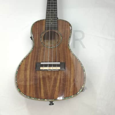 Solid Koa Concert Natural Gloss