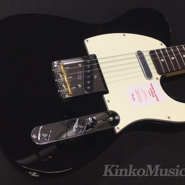 Fender Japan Hybrid 60s Telecaster Black Weigth≒3.65kg image