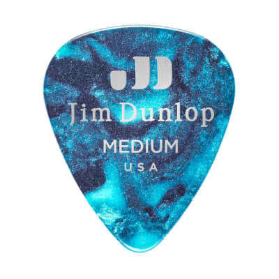 Dunlop 483P11MD Celluloid Standard Classics Medium Guitar Picks (12-Pack)