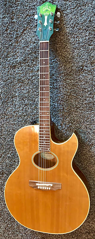 Vintage 1982 Guild F45ce Nt Acoustic Electric Guitar Made