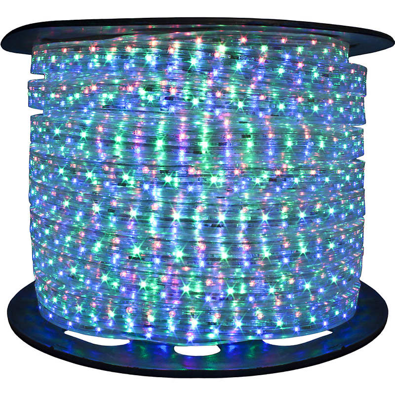 Rgb Color Changing Led Rope Lights Lighting 120 Volt 148 Feet Indoor Outdoor