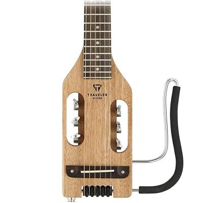 Traveler Guitar - Ultra Light Acoustic Steel String Mahogany w/ Gig Bag