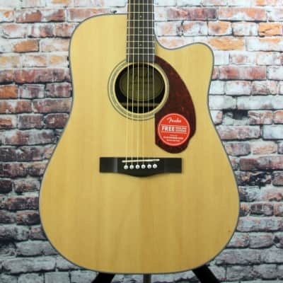 Fender CD-140SCE Acoustic-Electric Guitar - Natural for sale