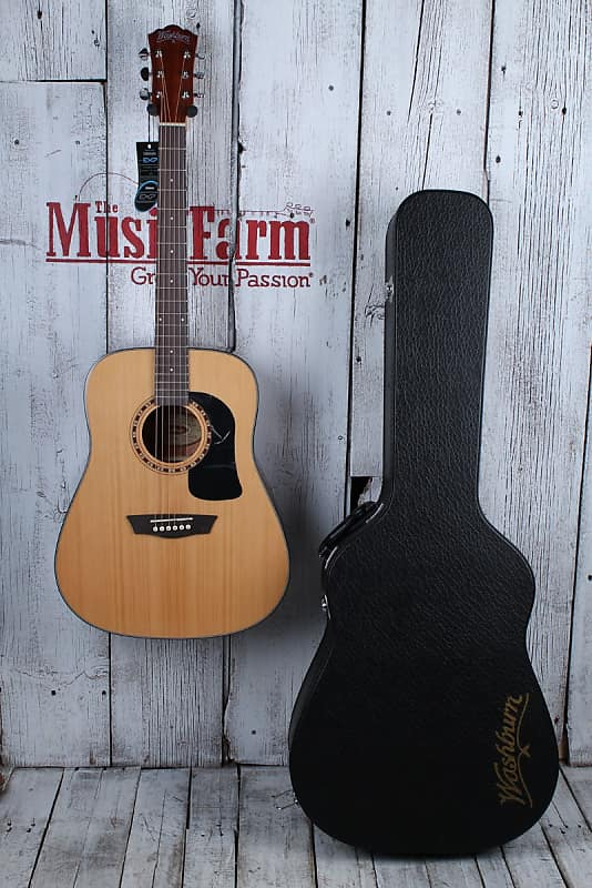 516ba16ca9 ... Apprentice Series Dreadnought Acoustic Guitar with Hardshell Case. By  Washburn; Listed by The Music Farm; Condition: Brand New; 29 Views. Ended!