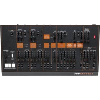 Korg ARP Odyssey Synthesizer Module Rev3 - Black/Orange