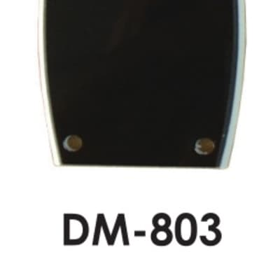 Hosco DM-803 Japan Black Truss Rod cover for sale