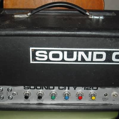 Sound City 120 70s vintage valve bass amplifier guitar amp EL34 SC120 tube B120 for sale